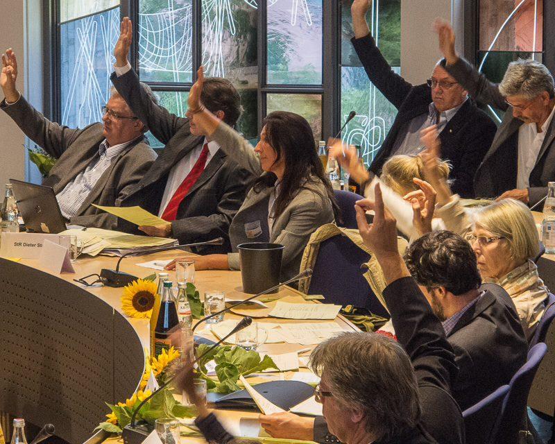 Konstituierende Sitzung des Häfler Gemeinderats