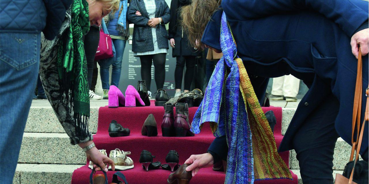 Brigitte Pfrommer-Telge darf nur privat an Flashmob teilnehmen