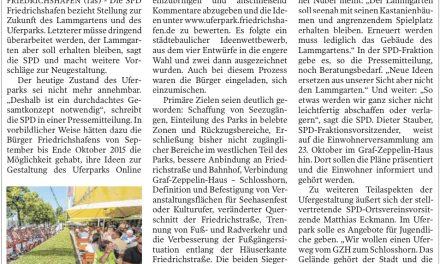 SPD will den Lammgarten erhalten