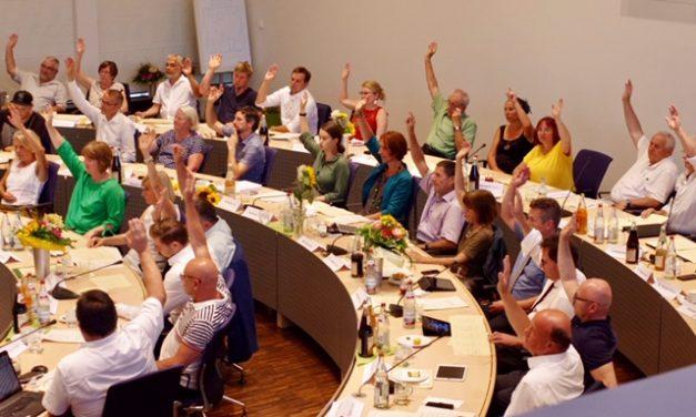 Gemeinderatssitzung am 30.09.2019